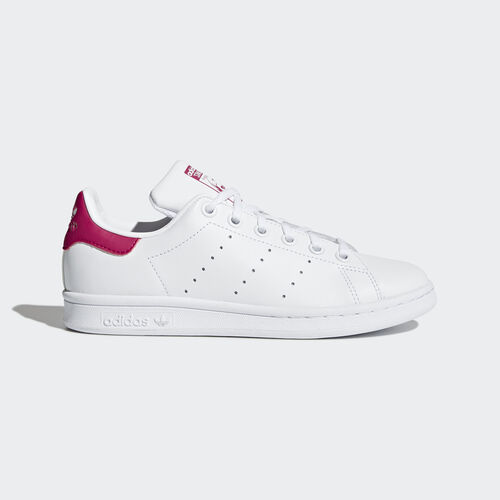 adidas - Stan Smith Shoes Running White Ftw  /  Running White  /  Pink Buzz B32703