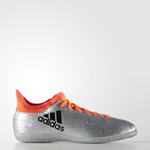 adidas - X 16.3 Indoor Shoes Silver Metallic  /  Black  /  Infrared S79562