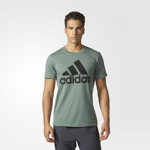 adidas - Classic Tee Trace Green  /  Black BQ4230