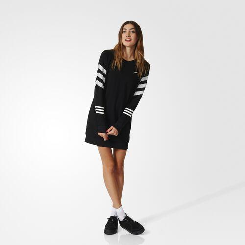 adidas - 3-Stripes Dress Black  /  White AY5811