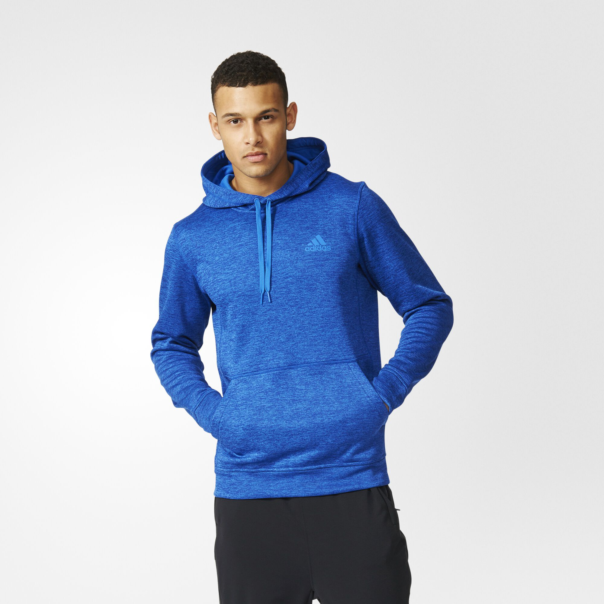 adidas Team Issue Pullover Hoodie - Blue | adidas US