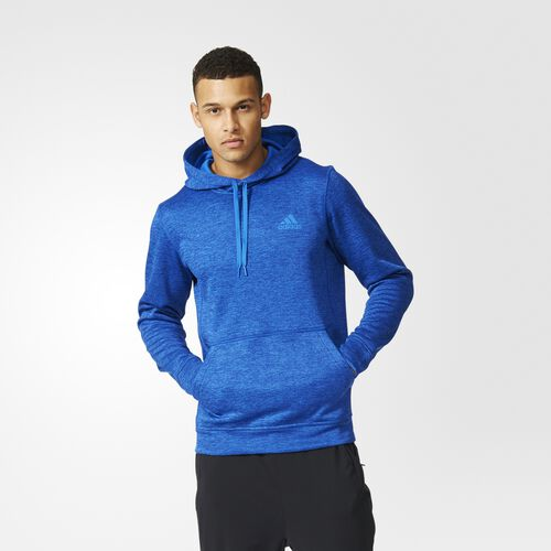adidas - Team Issue Pullover Hoodie Blue  /  Colored Heather AY9559