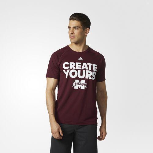 adidas - Bulldogs Create Yours Tee Maroon CR9564