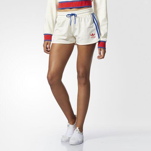 adidas - Embellished Arts Shorts Cream White CV9432