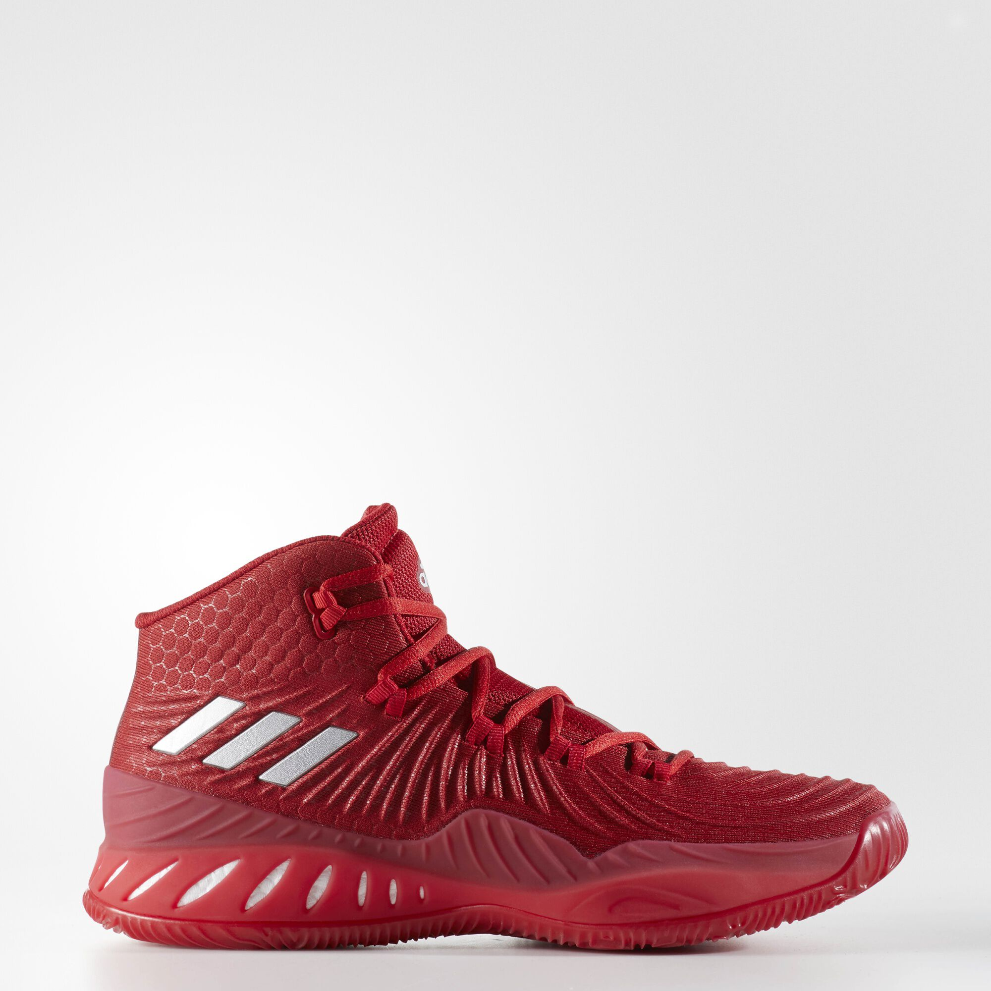 adidas - Crazy Explosive 2017 Shoes Power Red / Silver Metallic / Running  White BY3769