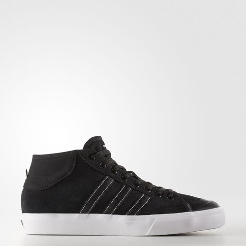 adidas - Matchcourt Mid Shoes Core Black  /  Core Black  /  Running White BY3991