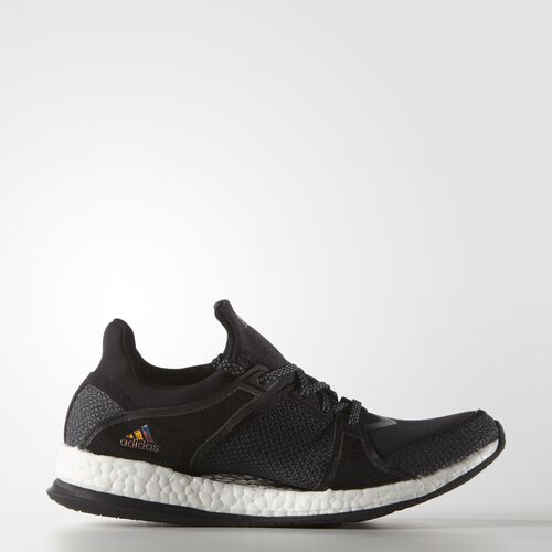 adidas - Pure Boost X Training Shoes Core Black  /  Onix  /  Running White Ftw AQ1970