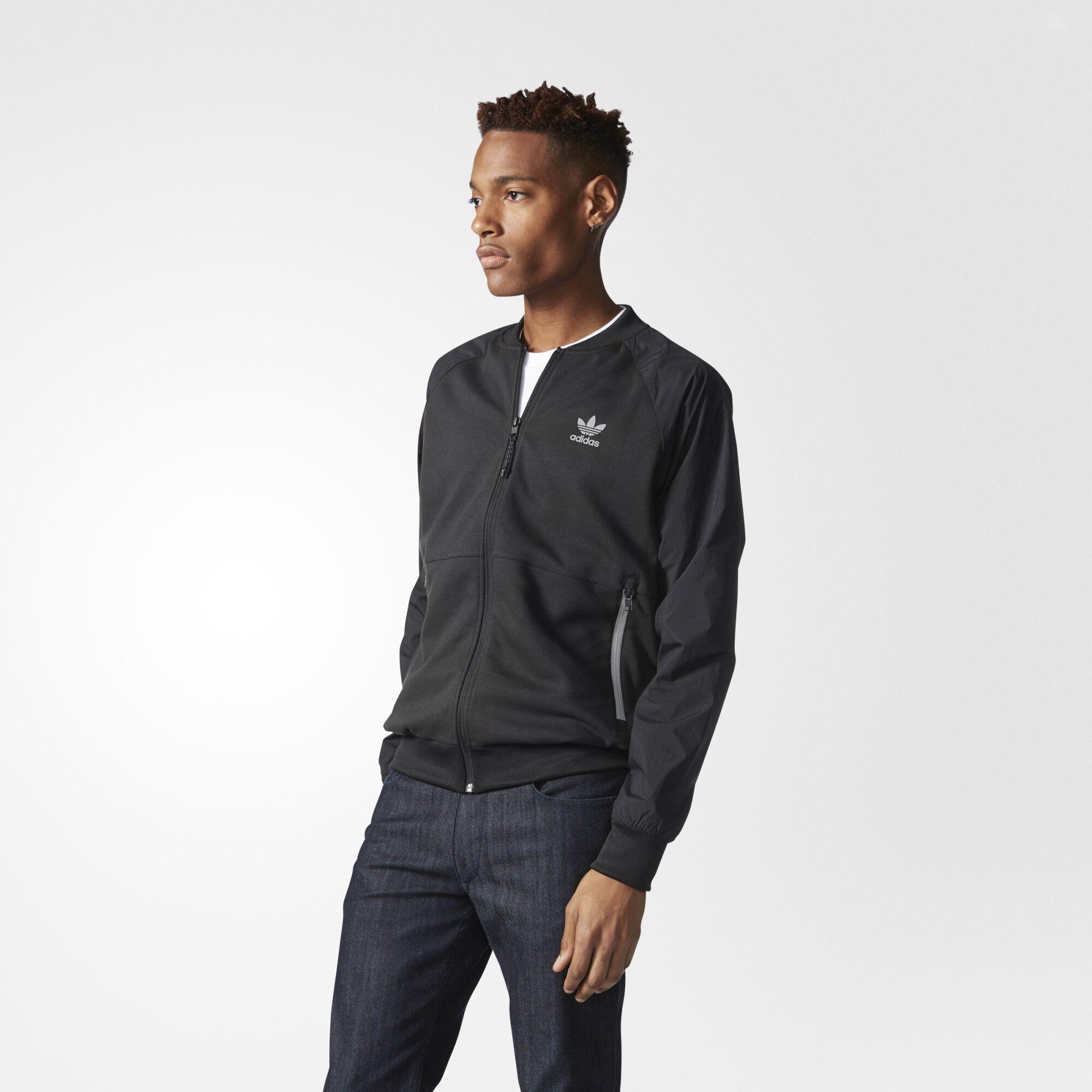 adidas superstar jacket