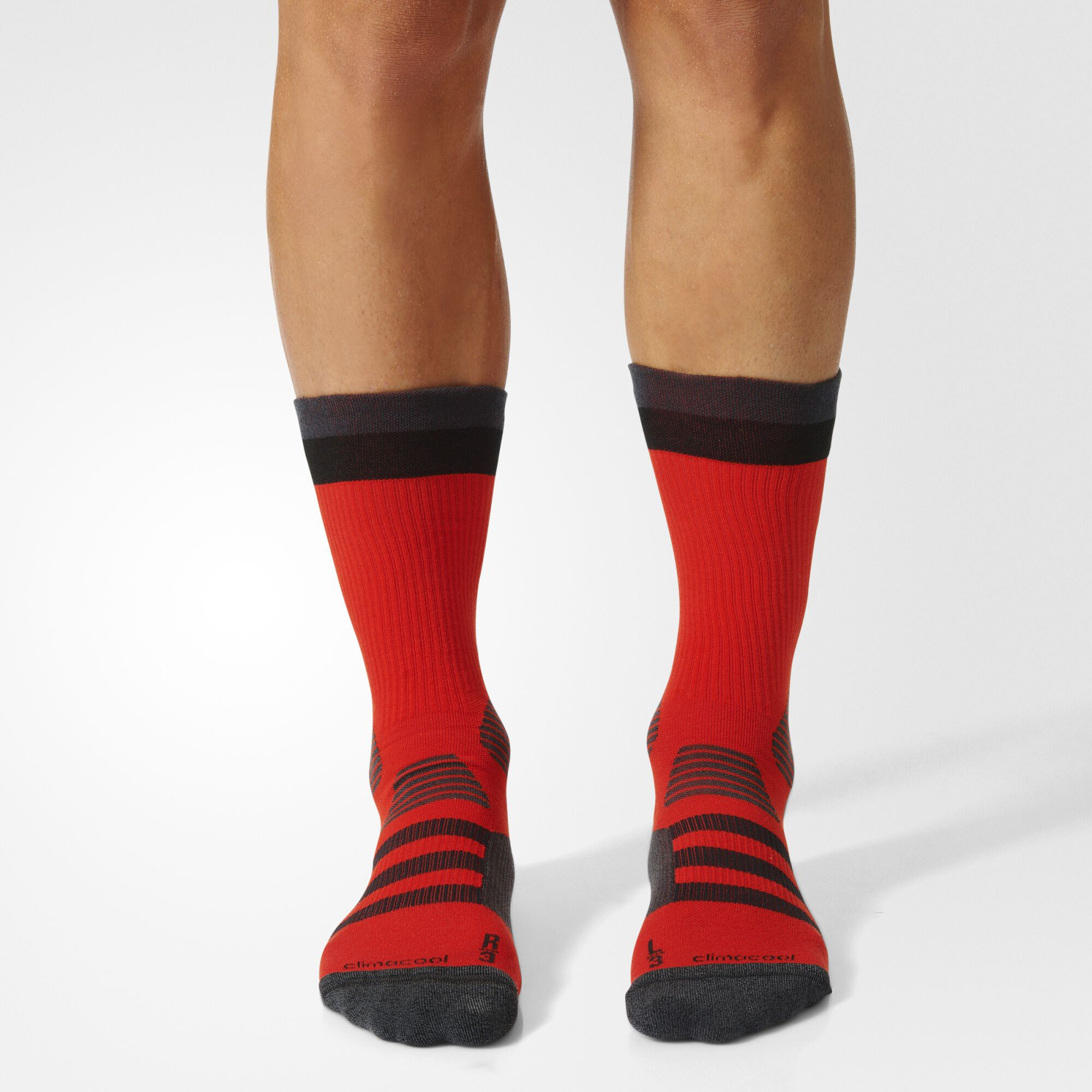 adidas black and red soccer socks