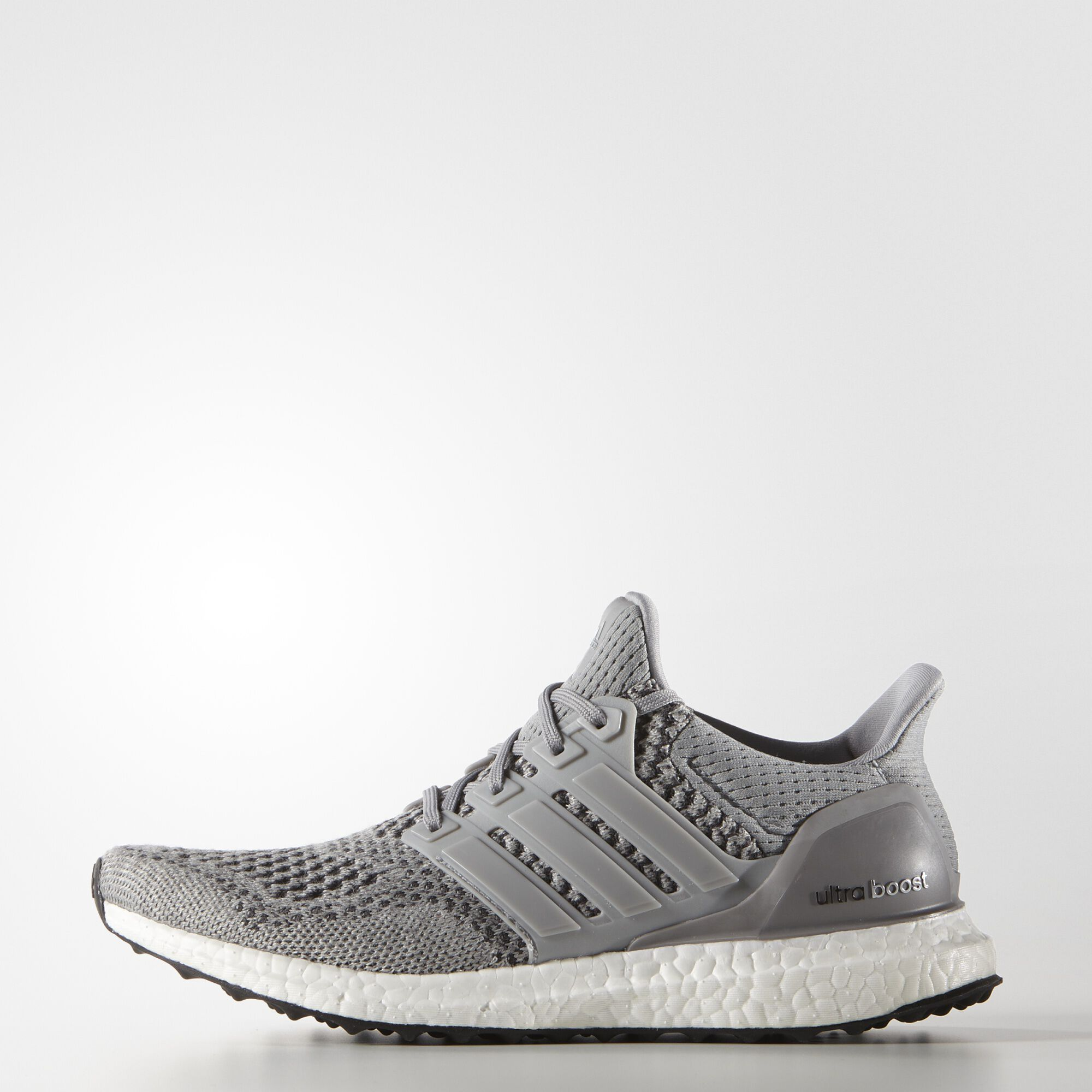 Adidas Ultra Boost White Black Bottom