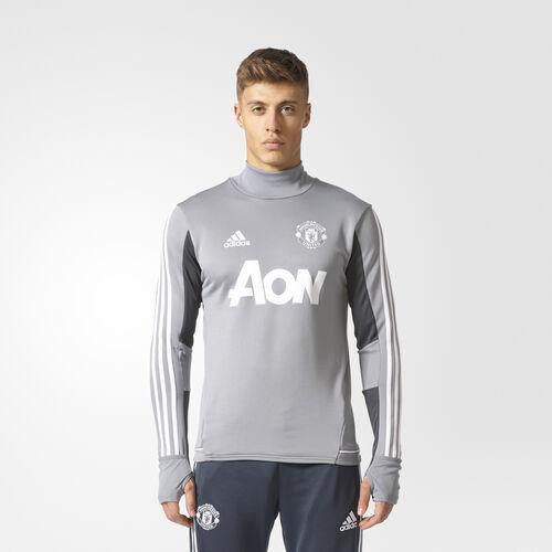 adidas - Manchester United Training Top Grey  /  Phantom  /  White BS4472