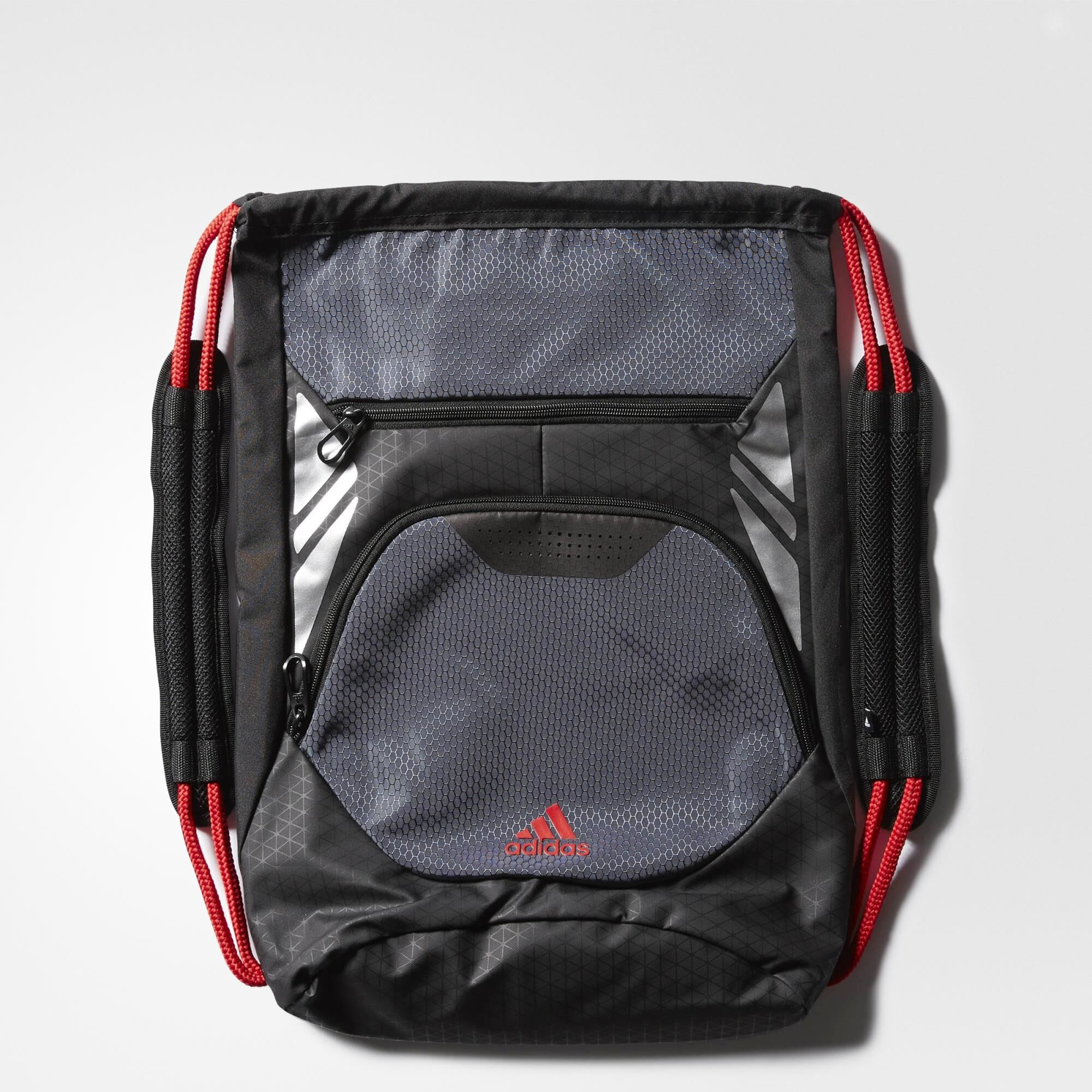 adidas sackpack red