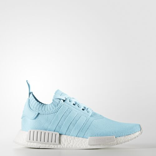 adidas - NMD_R1 Primeknit Shoes Ice Blue  /  Ice Blue  /  Running White BY8763
