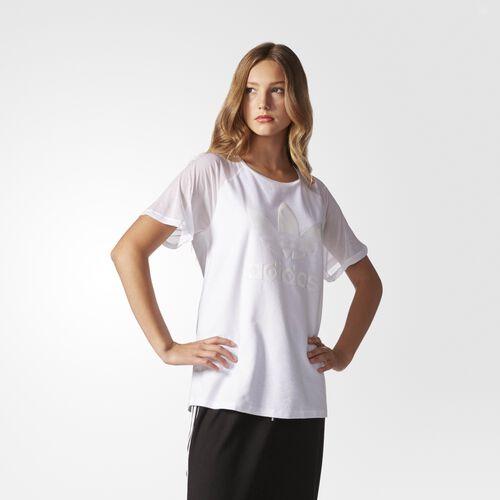 adidas - Logo Tee White AY6727