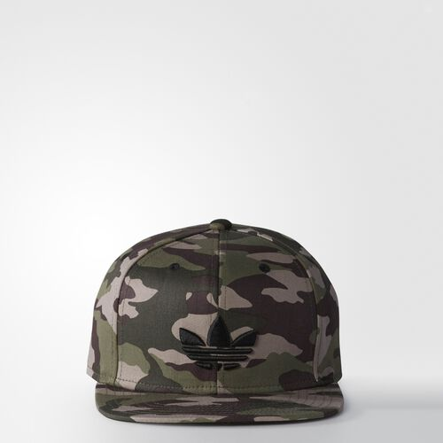 adidas - Team Structured Snap-Back Hat Multicolor  /  Black AN9065