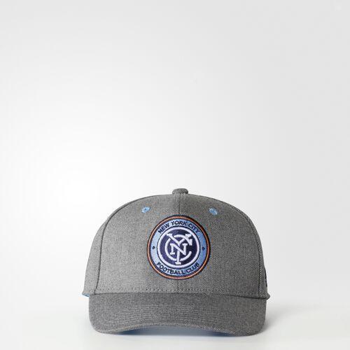 adidas - New York City FC Structured Hat Grey BM8568