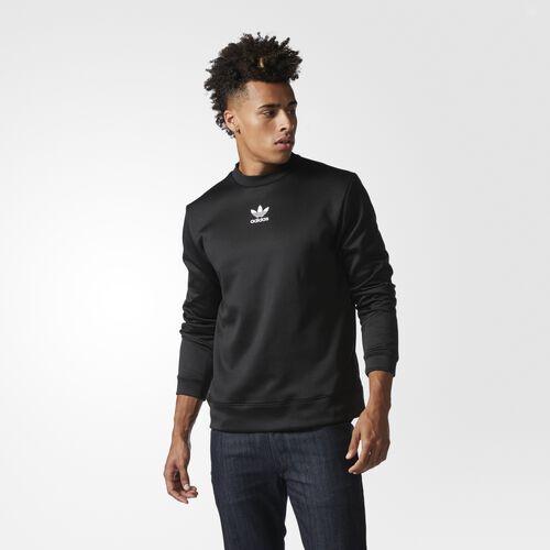adidas - BLK/WVN Sweatshirt Black BQ3537