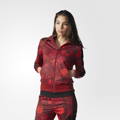 adidas - Firebird Track Jacket Red AY7946