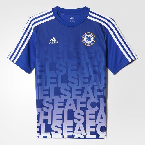 adidas - Chelsea FC Home Pre-Match Shirt Chelsea Blue  /  White S95855
