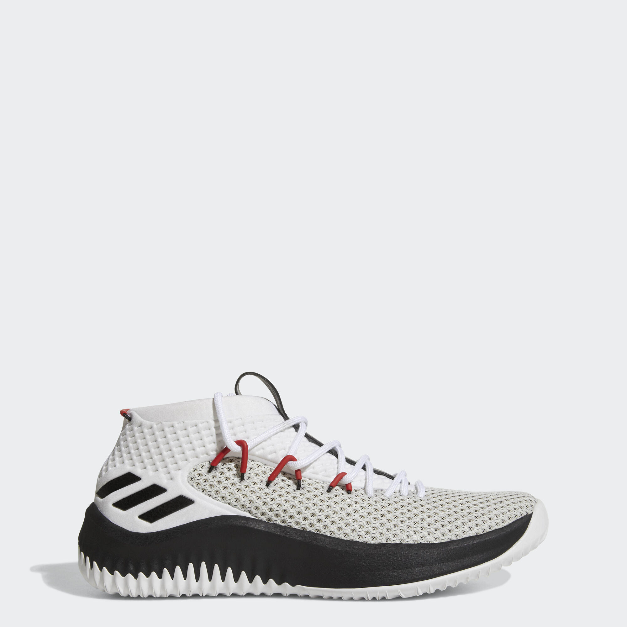 Black And White Dame Basketball Shoes