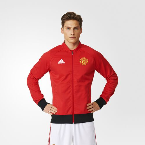 adidas - Manchester United FC Anthem Jacket Real Red AI5401