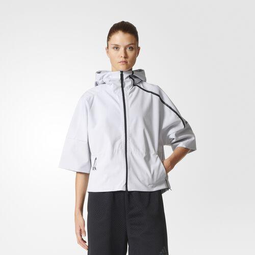 adidas - adidas Z.N.E. 90/10 Jacket White  /  Black B45505