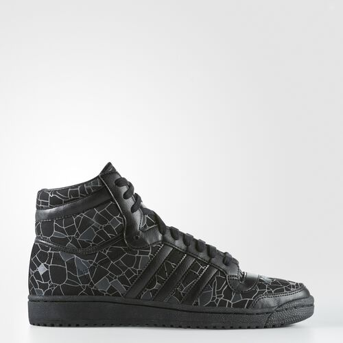 adidas - Top Ten Hi Shoes Core Black  /  Black  /  Solid Grey B27500