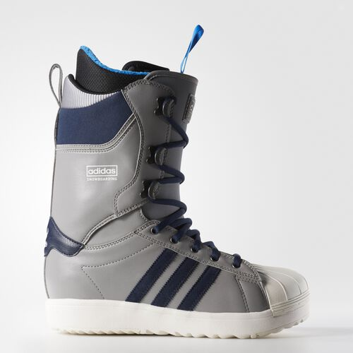 adidas - The Superstar Snowboarding Boots Charcoal Solid Grey  /  Collegiate Navy  /  Chalk White B27534
