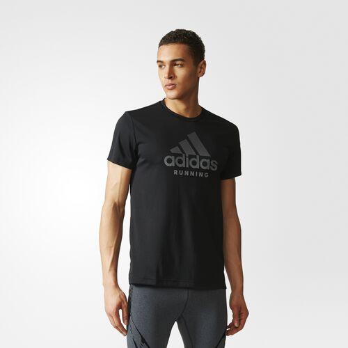 adidas - Logo Tee Black CF2061