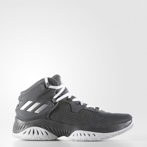 adidas - Explosive Bounce Shoes Grey  /  Silver Metallic  /  Grey CG4308