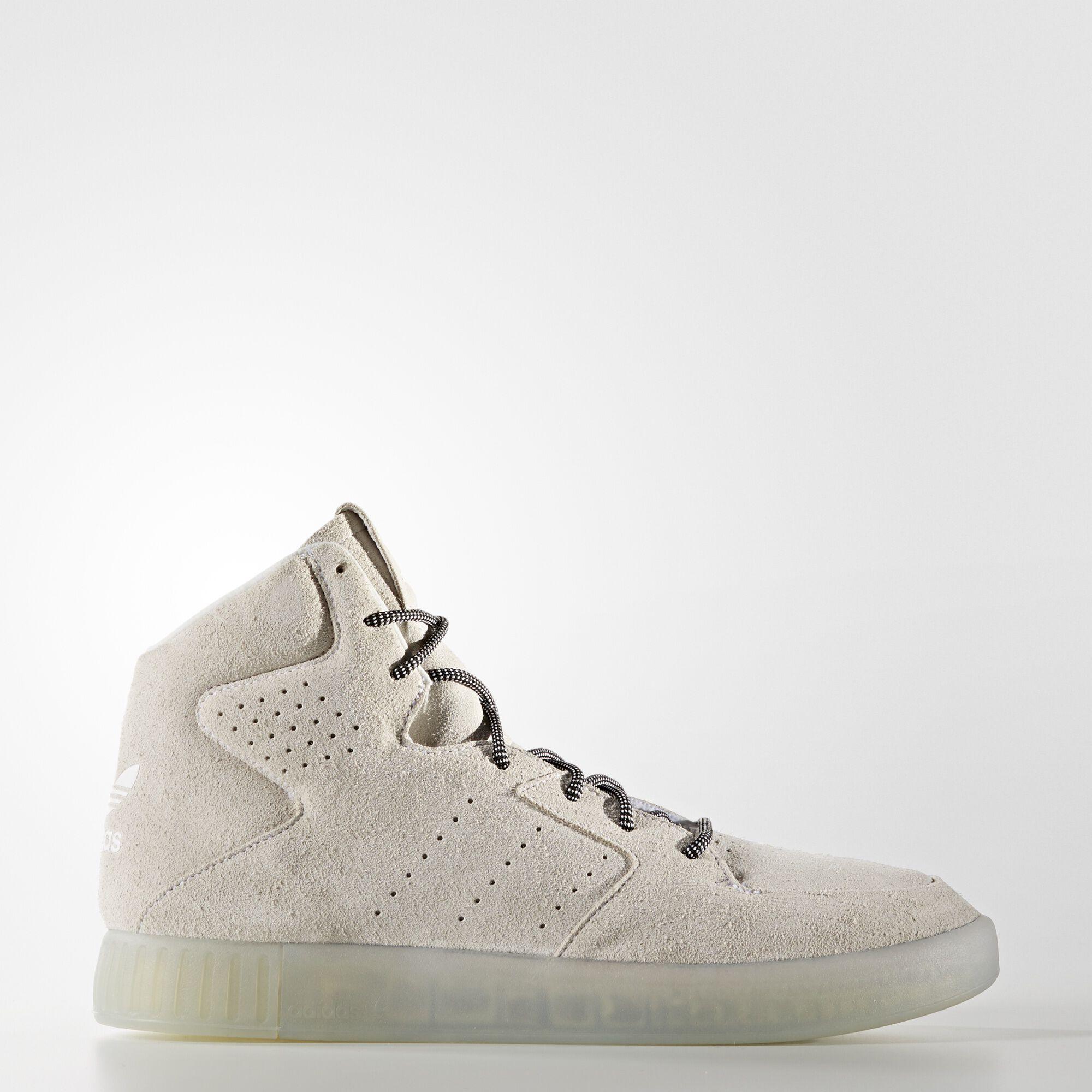 adidas tubular all white