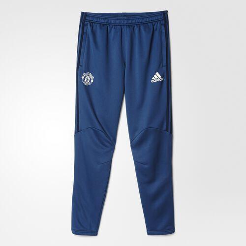 adidas - Manchester United FC Presentation Pants Mineral Blue  /  Collegiate Navy  /  Chalk White S95778