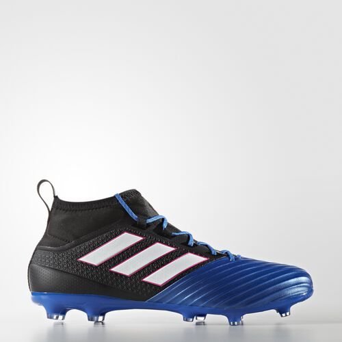 adidas - ACE 17.2 Primemesh Firm Ground Cleats Core Black  /  Running White Ftw  /  Blue BB4325
