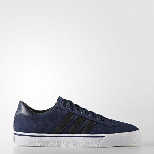 adidas - Cloudfoam Super Daily Shoes Collegiate Navy  /  Black  /  Running White AW3907
