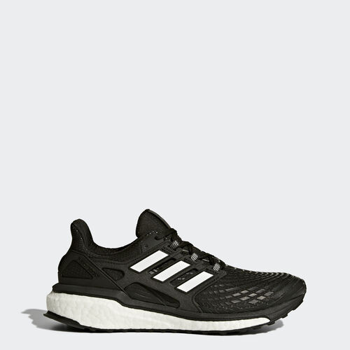 adidas - Energy Boost Shoes Core Black  /  Running White  /  Running White CG3056