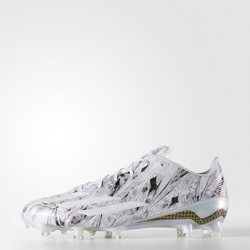 adidas - adizero 5-Star 5.0 x Kevlar® Cleats Running White Ftw  /  Running White  /  Platinum AQ6931