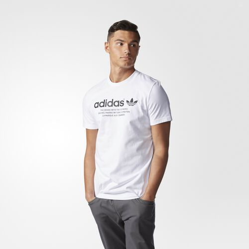 adidas - Fashion Graphic Tee White AJ7235