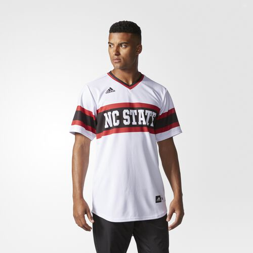 adidas - Wolfpack Authentic Baseball Jersey MULTI A73414