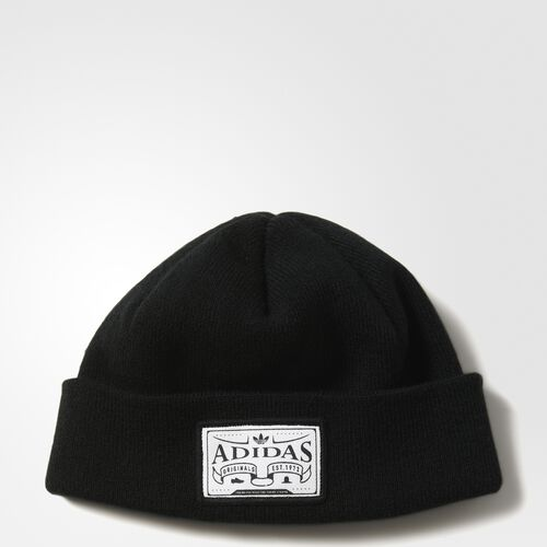 adidas - Logo Badge Beanie Black B47849