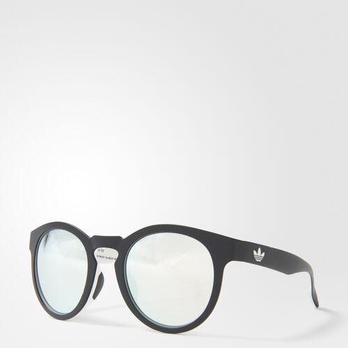 adidas - AOR009 Sunglasses Black  /  White  /  Metallic Silver BA7036