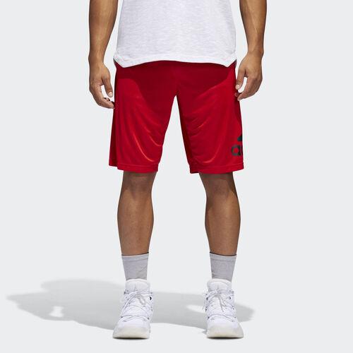adidas - Crazylight Shorts Scarlet  /  Black BR1957