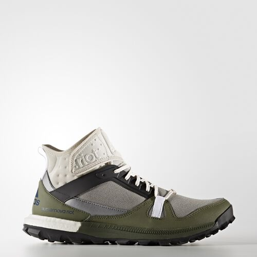 adidas - Supernova Riot Shoes Clear Brown  /  Black  /  Base Green BB3949