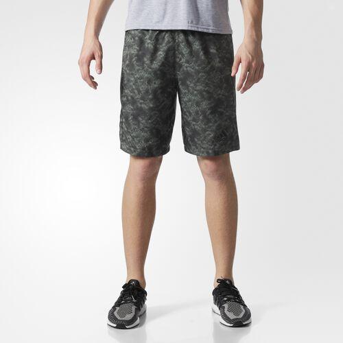 adidas - Athlete ID Snake Strike Shorts Trace Green  /  Utility Black BK3676
