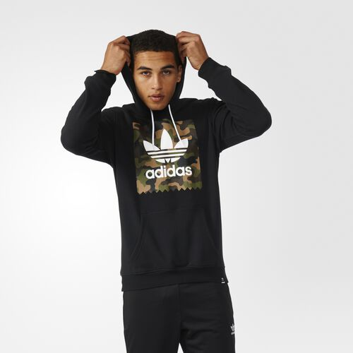 adidas camouflage blackbird pullover hoodie black. Black Bedroom Furniture Sets. Home Design Ideas