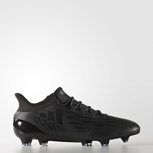 adidas - X 16.1 Firm Ground Cleats Core Black  /  Core Black  /  Grey S81943