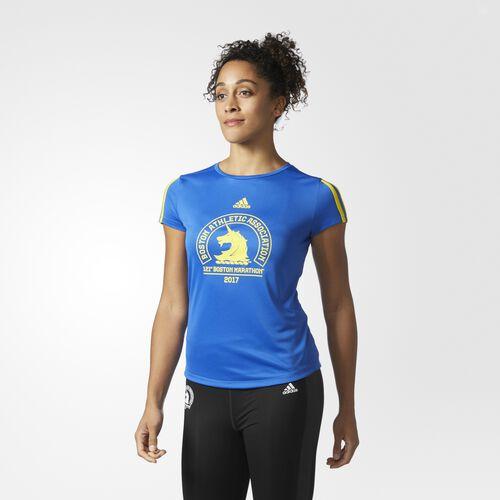 adidas - Boston Marathon®Official Tee Blue CD4183