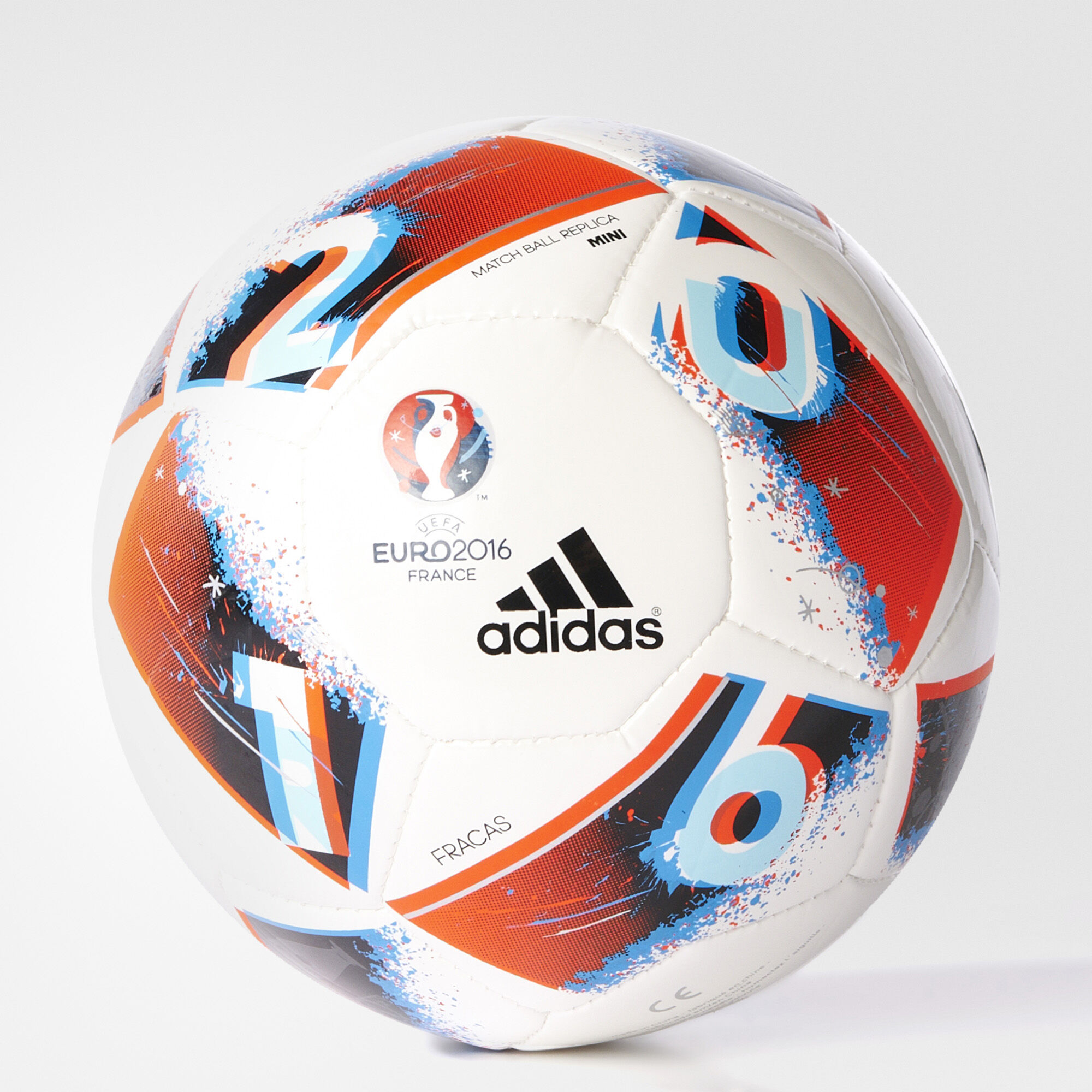 adidas uefa euro 2016 mini soccer ball white adidas us. Black Bedroom Furniture Sets. Home Design Ideas