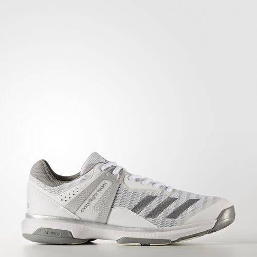 adidas - Crazyflight Team Shoes Running White  /  Metallic Silver BA9661