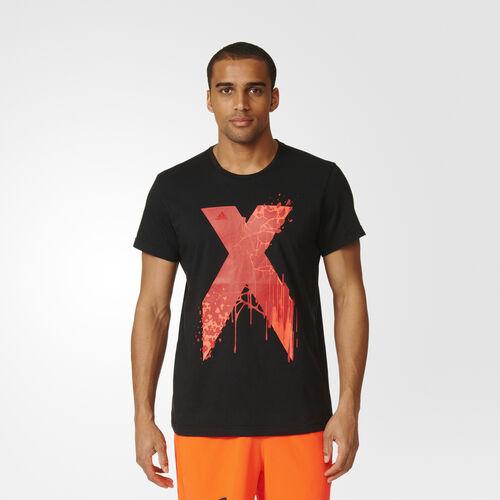 adidas - X Graphic Tee Black AY7239