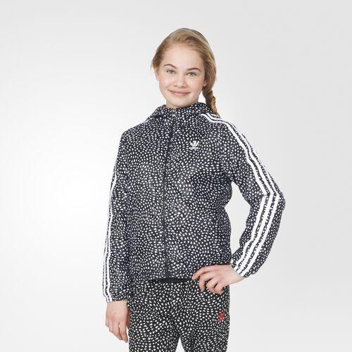 adidas - YWF Windbreaker Black  /  White  /  Medium Grey Heather S96018